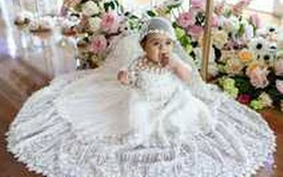 Significado del vestido blanco de bautismo