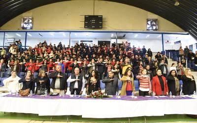 812d737cad048 Rinden homenaje a nuestro Símbolo Patrio - La Voz de la Frontera