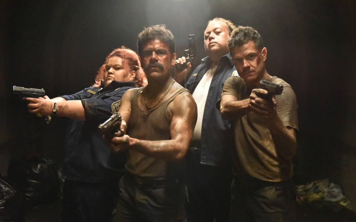 Acción y comedia en Placa de Acero - La Voz de la Frontera