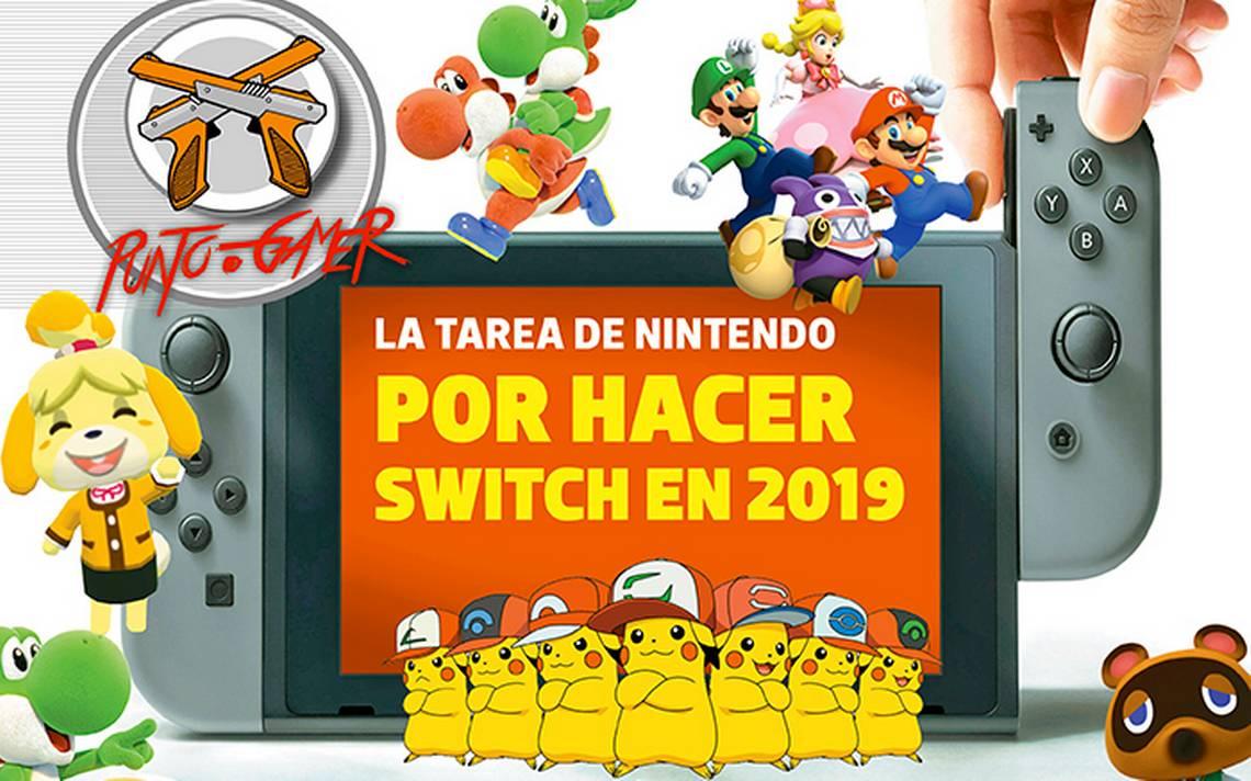 Punto Gamer La Tarea De Nintendo Por Hacer Switch En 2019 La Voz