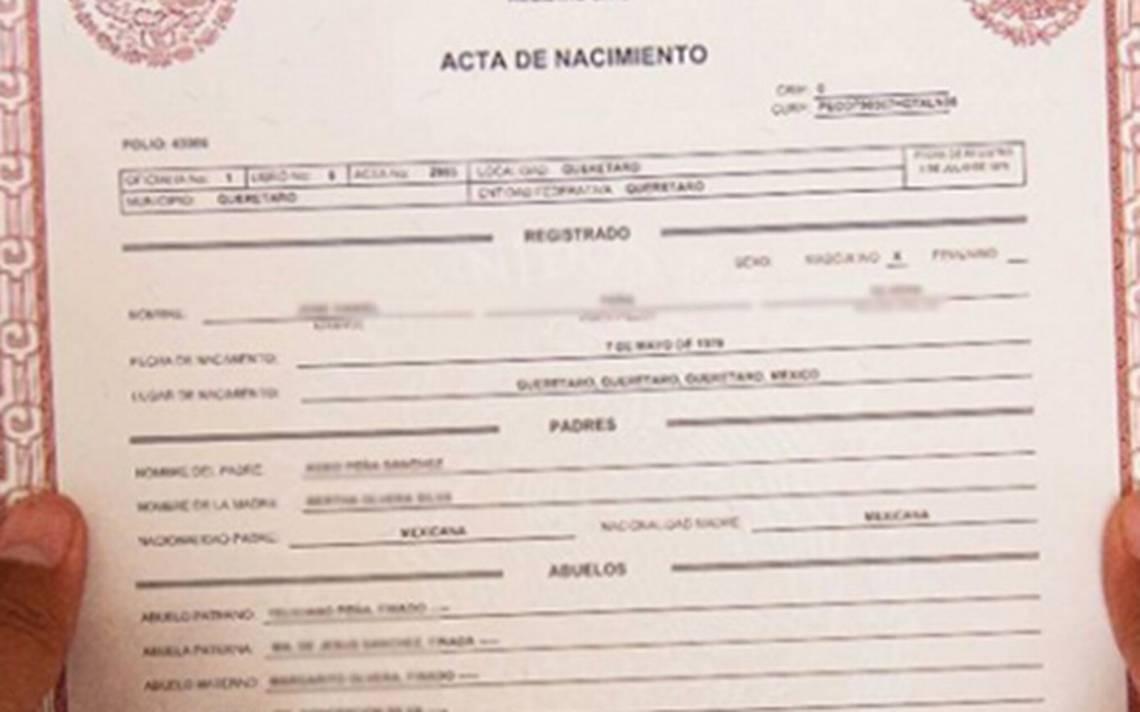 Matrimonio Catolico Requisitos : Lugares para sacar el acta de nacimiento mexicana en