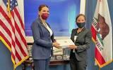 Reunión con la Vicegobernadora de California, Elena Kounalakis