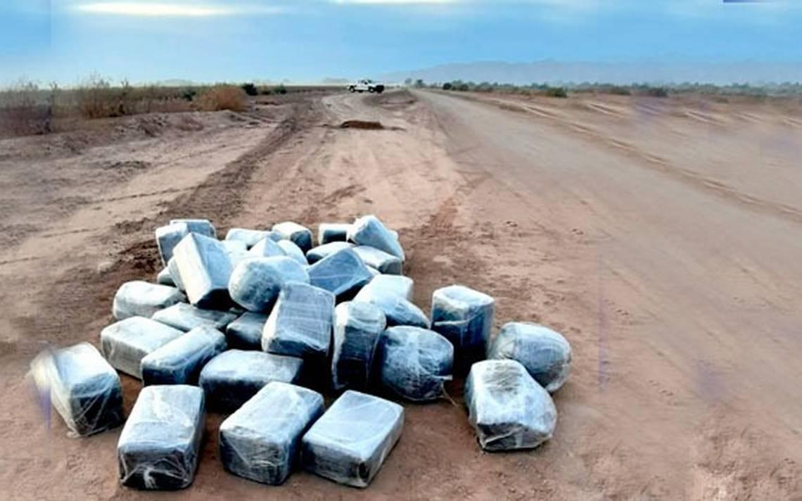Aseguran media tonelada de droga en Valle de Mexicali - La Voz de la Frontera
