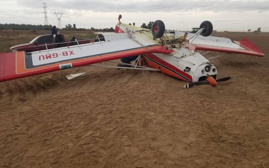 Cae avión fumigador en Valle de Mexicali - La Voz de la Frontera